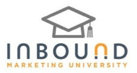 Right On – No Bull Marketing Vice President Certified by Inbound Marketing University