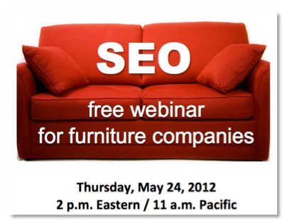 Register for Free Local SEO Webinar for Furniture Businesses